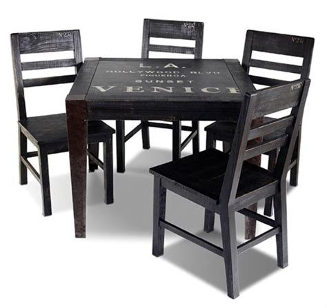 diningroom rustic furniture mall by timber creek graffiti 38 quot dining table rustic furniture mall by