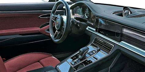 porsche panamera 2016 interior 2017 porsche panamera interior revealed in leaked image