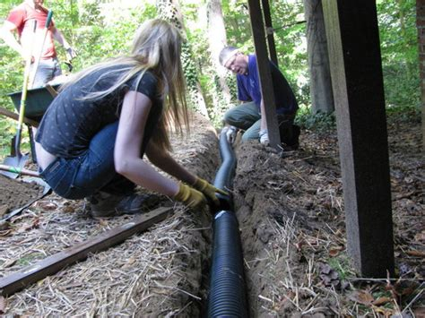 catch basin in backyard yard drainage project 1 nicholsnotes