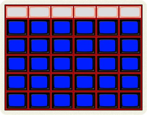 jeopardy board template blank jeopardy board 1984 by wheelgenius on deviantart