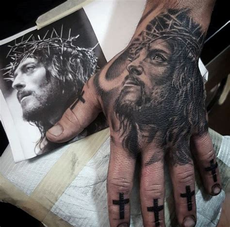 jesus hand tattoo 20 jesus designs for ink ideas