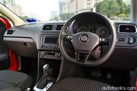 volkswagen sedan interior test drive review volkswagen polo sedan 1 6 autofreaks com