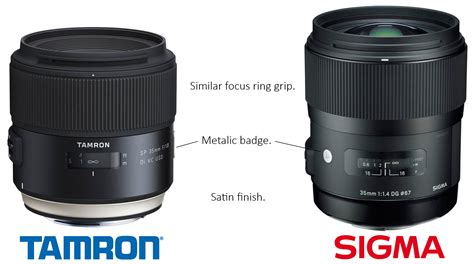 Tamron 35mm tamron announces new sp lens line with 35mm f 1 8 and 45mm