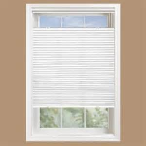 home depot cellular shades bali cut to size white light filtering cordless fabric 3 8