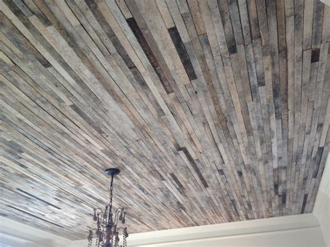 would you ever use reclaimed wood on your ceiling we