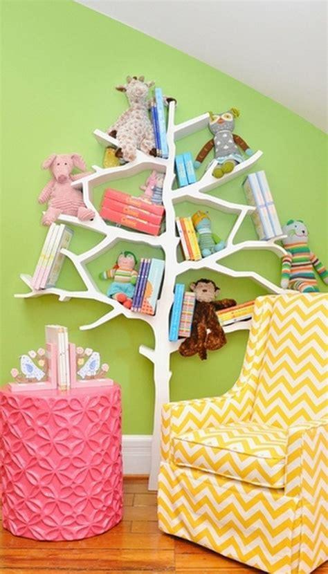 Tree Shelf Nursery by Cozy Creative Ways To Display Books In The Nursery