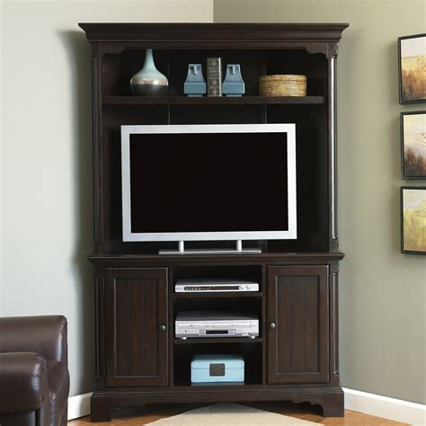 carriage house corner entertainment center tv stands at - Corner Entertainment Center
