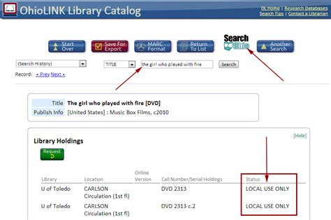 Search For In Ohio Xavier Library Finding Books And Audiovisuals In Ohiolink Search Ohio