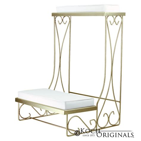 kneeling benches single kneeling bench convertible gold leaf