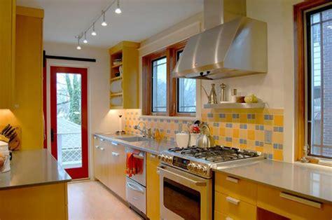 yellow kitchen theme ideas ambiance accueillante et conviviale dans une cuisine jaune
