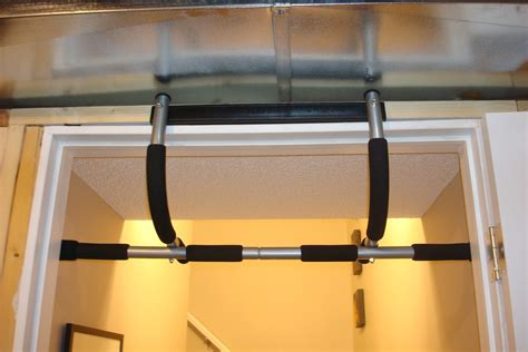 Garage Pull Up Bar by From Needles To Nails Pull Up Bar