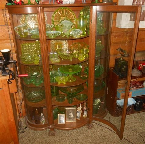 curved glass curio cabinet vintage curved glass china curio cabinet collectors weekly