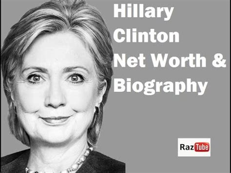 Hillary Clinton Biography Today | hillary clinton presidential candidate net worth 2016