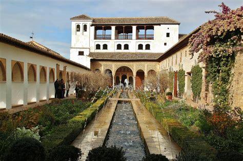 imagenes jardines generalife jardines del generalife en la alhambra de granada gu 237 as