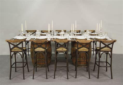 tavoli da buffet noleggio tavoli tavoli da buffet mod country con botti