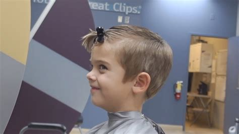 great clips haircut pictures he is not scared he got his dream haircut at great