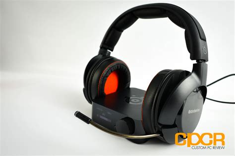 Headset Steelseries H Wireless review steelseries h wireless gaming headset custom pc review