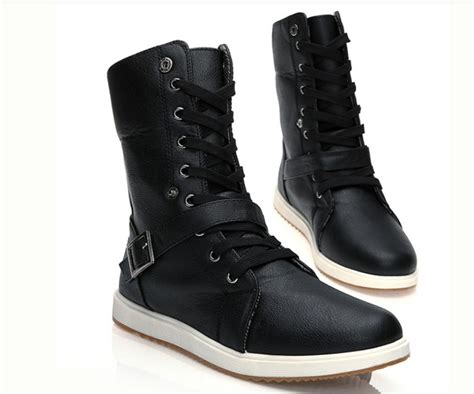 best mens winter boots 2013 2013 winter high top army leather combat boots lace