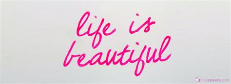 facebook cover photo tattoo quotes life is beautiful quote facebook covers