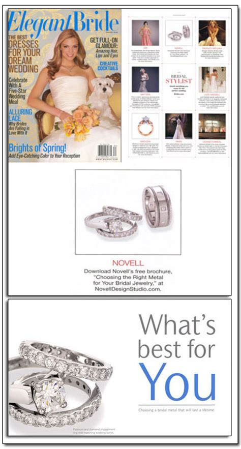 Wedding Band Brochure by Archives Novell Wedding Bands
