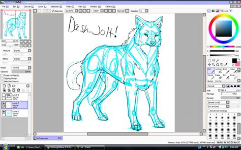 paint tool sai portable 2015 painttool sai picture by dash jolt drawingnow