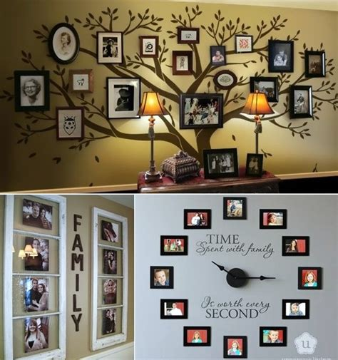 ideas for displaying photos on wall 40 unique wall photo display ideas for you