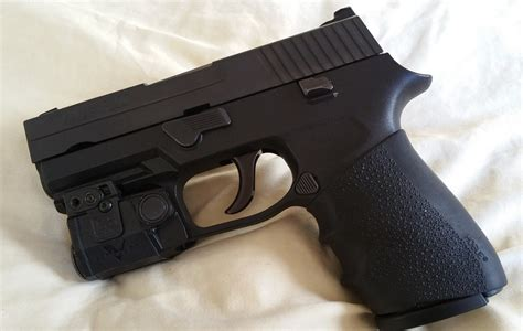 sig p320 laser light anyone have a p250 45acp compact