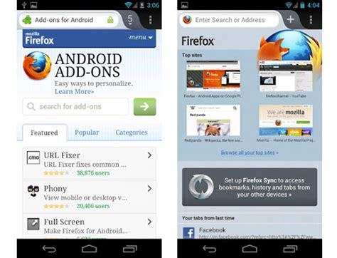 browser for android firefox browser for android v45 0 1 apk