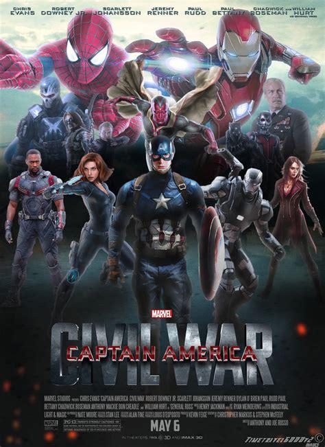 film marvel captain america civil war captain america civil war poster by timetravel6000v2