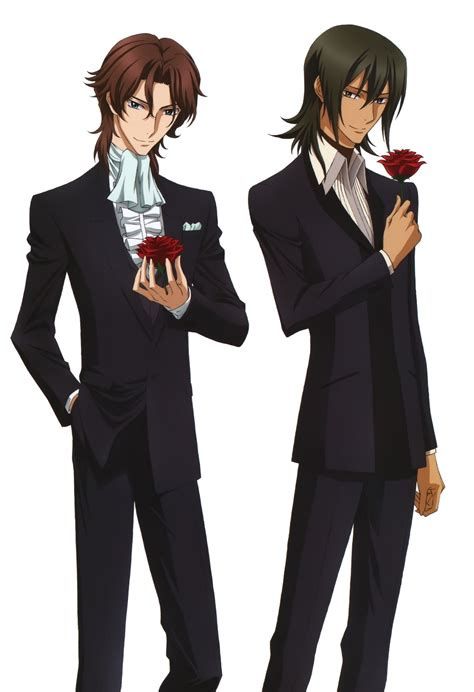 anime cool boy with tuxedo mobile suit gundam 00 images allelujah haptism lockon