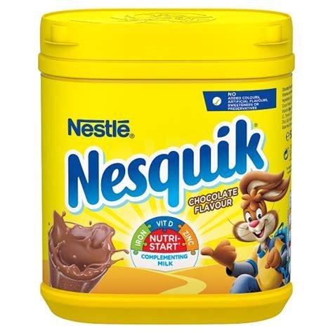 Strawberry Powder 250gr nesquik chocolate powder 500g tesco groceries