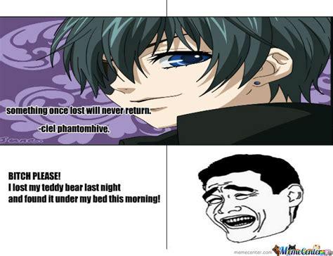 Ciel Phantomhive Memes - chatting with ciel phantomhive by mememakerolives meme center