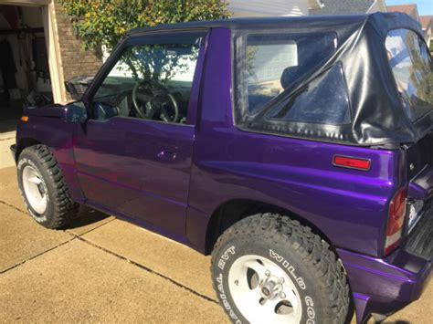 how things work cars 1993 suzuki sidekick interior lighting 1993 suzuki sidekick custom purple paint 4x4 for sale photos technical specifications description