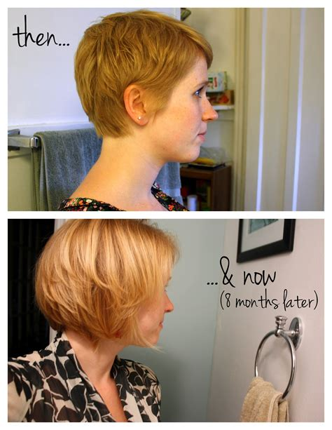 how long to grow out chin length hair with pictures how to grow out a pixie cut google search hair make