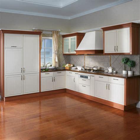 Prima cheap price PVC kitchen cabinet