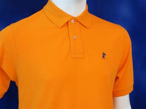 Kaos Polos Orange Xl kaos polo shirt pilihan warna kaos berkerah