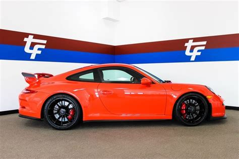 lava orange porsche dealer inventory 2016 porsche gt3 lava orange 18 way seats