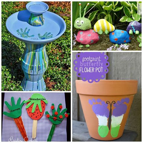 Garden Crafts by 1000 Ideas About Garden Crafts On Garden