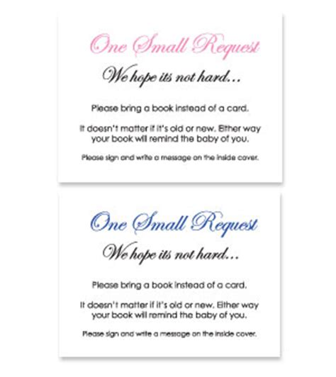 bring a book instead of a card template free baby shower baby theme bring a book instead of a card