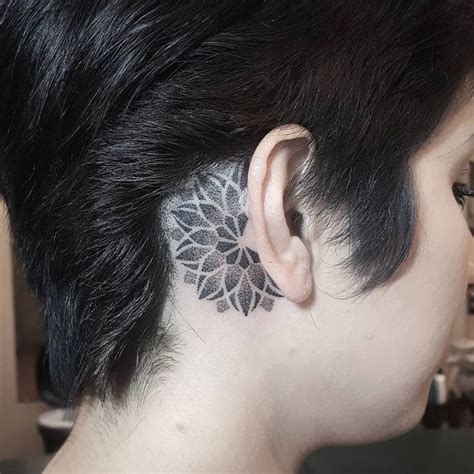 x tattoo behind ear 80 best behind the ear tattoo designs meanings nice