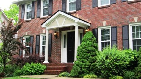 portico on colonial house add a portico to your front door for class and