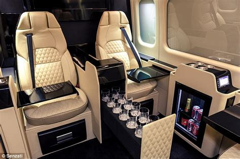 small cers with bathrooms for sale the senzati jet sprinter looks more like a private jet