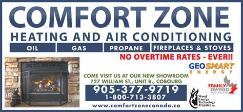 Comfort Zone Cobourg Ontario by Comfort Zone Heating Air Conditioning Cobourg On
