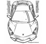 Coloring Pages Lamborghini Cars  Home