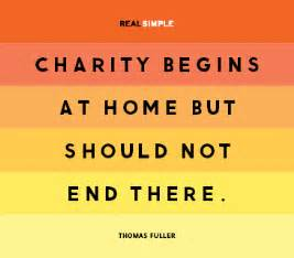 charity begins at home helping the needy quotes quotesgram