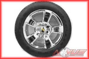 Ebay New Car Tires New 2015 20 Quot Chevy Tahoe Ltz Silverado Gmc Yukon