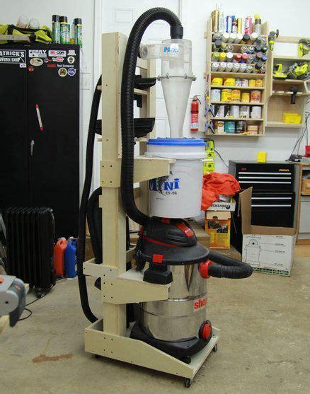vertical shopvac cyclone cart dust collectors