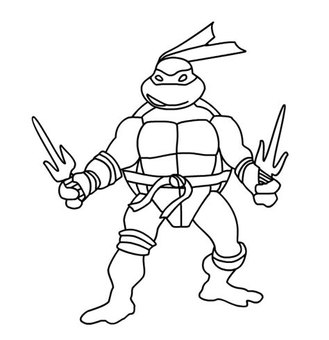 raphael ninja turtle coloring pages printable raphael ninja turtle coloring page