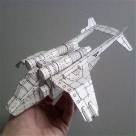 Papercraft 40k - warhammer papercraft valkyrie assault carrier