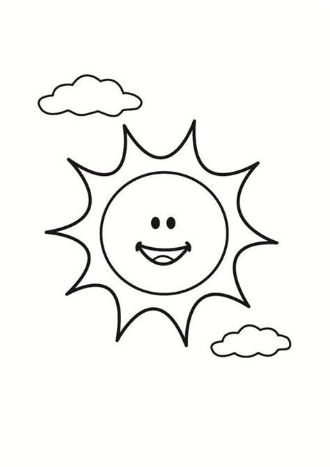 imagenes sol y luna para colorear sol para colorear gratis